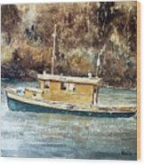 Powell River Canada Wood Print