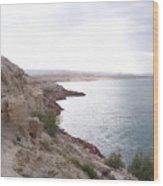 Powell Shoreline Wood Print