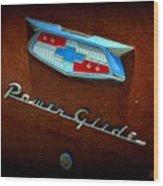 Power Glide Wood Print