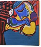 Power Nap  Picasso By Nora Wood Print
