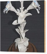 Power Of Flower  Wood Print by Yelena Rubin