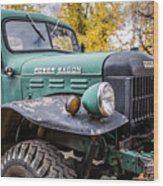 Power Wagon Wood Print