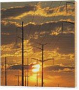 Power2power Wood Print