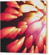 Powerful Explosion K874 Wood Print