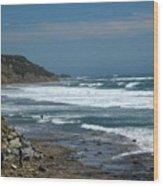 pr 121 - Lone Windsurfer Wood Print