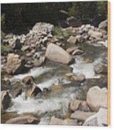 pr 147 - Stony River Wood Print