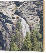 pr 151 - Waterfall Rock Wood Print