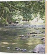 pr 164 - Mountain River Wood Print