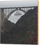 pr 170 - Bixby Bridge II Wood Print