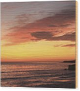 pr 239 - Sunset at Santa Cruz Wood Print