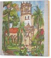 Prado- Balboa Park Wood Print