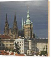 Prague Castle Complex Wood Print