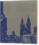 Prague Old Town Square Wood Print