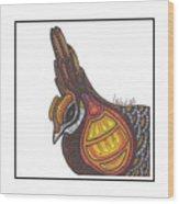 Prairie Chicken #51  Wood Print