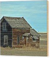 Prairie Home  Wood Print