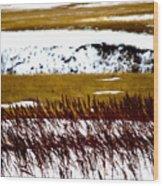 Prairie Winter Wood Print