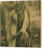 Praise Him With The Harp I Wood Print