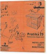 Pratika 29 - 29f Wood Print