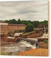 Prattville Alabama Wood Print