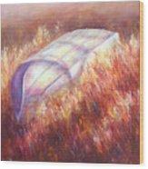 Pray For Rain Wood Print