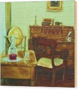 Prayer Closet Wood Print