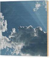 Prayer Cloud Wood Print