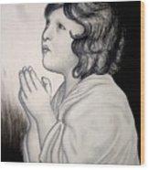 Prayer Is The Master-key Wood Print
