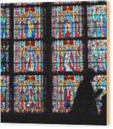 Prayer Of Colour 01 Wood Print