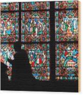 Prayer Of Colour 02 Wood Print