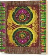 Prayer Rug Wood Print