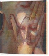 Prayer Two Wood Print