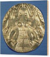 Pre-columbian Gold, 1000 Ad Wood Print