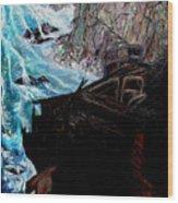Precious Gem Mountain Wood Print