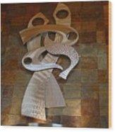 Preforming Undressed Wood Print