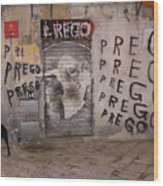 Prego Wood Print