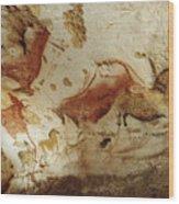Prehistoric Artists Painted Robust Wood Print