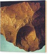 Prehistoric Flint Blade Wood Print