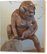 Prehistoric Madonna Wood Print