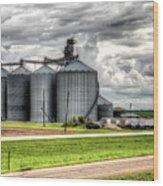 Premier Grain - Ganado, Tx Wood Print
