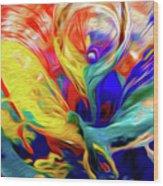Premorphationism Glass Wood Print
