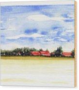 Prenzing Bavaria Wood Print
