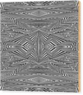 Preprogrammed Wood Print