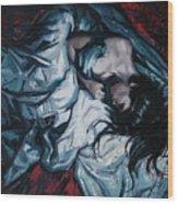 Presentiment Of Insomnia Wood Print