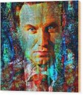 President Andrzej Duda Portrait Wood Print