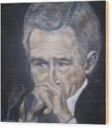 President  George Bush Wood Print