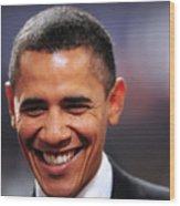 President Obama IIi Wood Print