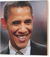 President Obama Iv Wood Print
