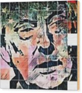 President Of The United States Donald Trump Wood Print