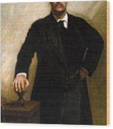President Theodore Roosevelt Painting Wood Print