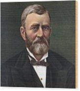 President Ulysses Grant Wood Print